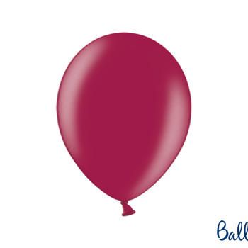 Balony Strong, Metallic Maroon, 10szt.
